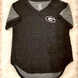 Georgia Bulldogs medium high low cotton spandex